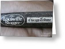 Louisville Slugger Greeting Card