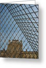 Louvre In Paris France Greeting Card