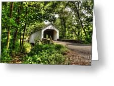 Loux Covered Bridge Greeting Card
