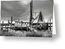 Lowcountry Shrimp Boat Greeting Card