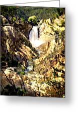Lower Falls 2 Greeting Card