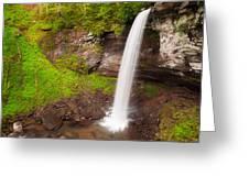 Lower Hills Creek Falls Greeting Card