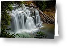 Lower Lewis Falls 2 Greeting Card