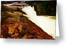 Lower Punchbowl Falls Greeting Card