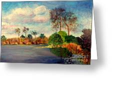 Loxahatchee Nature Preserve Greeting Card