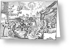 Luther Anniversary, 1617 Greeting Card