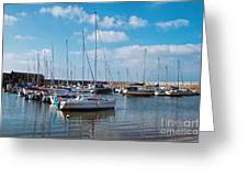 Lyme Regis Harbour 2 Greeting Card