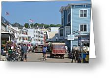 Mackinac Island Greeting Card