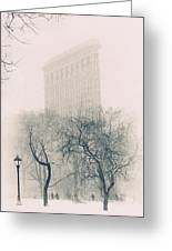Madison Square Park Greeting Card