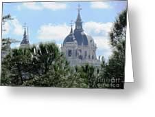 Madrid Skyline Greeting Card
