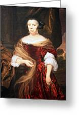 Mae's Portrait Of A Lady Greeting Card