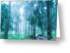 Magic Forest 5 Greeting Card