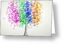 Maple Tree 10 Greeting Card