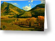 Marble Valley Greeting Card