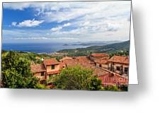 Marciana Village - Elba Island Greeting Card