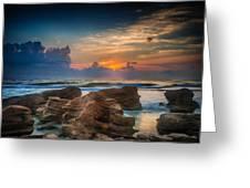 Marineland Beach Sunrise Greeting Card