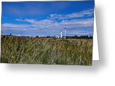 Marjaniemi Lighthouse Greeting Card
