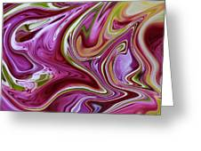 Mars Meets Venus Diptych Greeting Card by Chad Miller