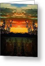 Marsh Lake - Yukon Greeting Card