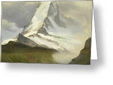 Matterhorn Greeting Card