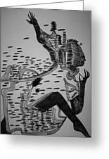 Mbakumba Dance - Zimbabwe Greeting Card