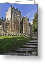 Medieval Castle Keep Greeting Card