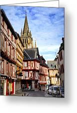 Medieval Vannes France Greeting Card