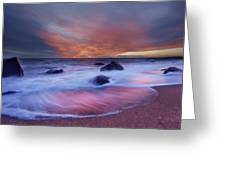 Meigs Point Sunset Greeting Card