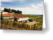 Melini Winery Greeting Card