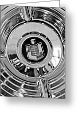 Mercury Wheel Emblem Greeting Card