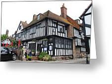 Mermaid Inn Rye Greeting Card