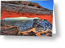 Mesa Arch Frame Greeting Card