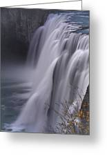 Mesa Falls Greeting Card by Raymond Salani III