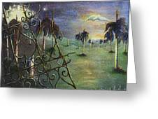 Metamorfosis De Palmas Greeting Card