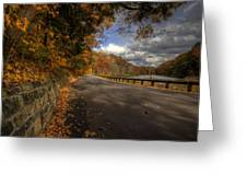Mill Creek Park In Autumn Greeting Card