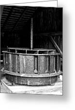 Mill Wheel Greeting Card