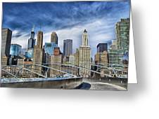 Millennium Skyline  Greeting Card