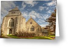 Minster Abbey Greeting Card
