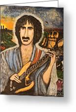 Minstrel By The Roadside Greeting Card
