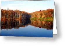 Mirror Lake Panoramic Greeting Card