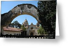 Mission San Carlos Borromeo Del Rio Carmelo Greeting Card