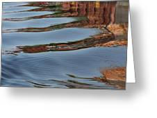 Mississippi Reflections Greeting Card