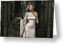 Mistress Of Poisons Greeting Card