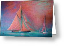 Misty Bay Greeting Card