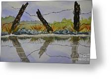 Misty Watercolors Greeting Card