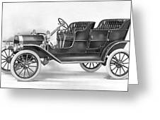 Model T Ford, 1908 Greeting Card