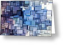Modern Abstract Vi Greeting Card