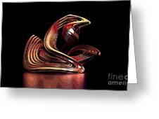 Modern Art Greeting Card