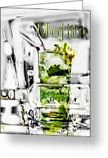 Mojito Greeting Card by Russell Pierce