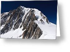 Mont Blanc Massif Greeting Card